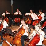 Audition pour l'ensemble des violoncelles avec professeur Philippe Rossignol