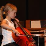 Audition pour l'ensemble des violoncelles avec professeur Philippe Rossignol CPMA 28-6-2009