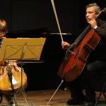 Philippe Rossignol avec un petit élève - Audition CPMA