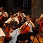 Concert Chateau 28-06-2009 - ensemble des violoncelles
