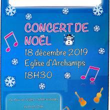 Concert de Noël Archamps